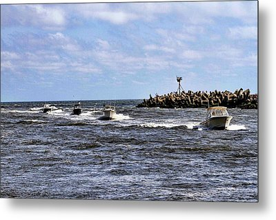 Point Pleasant New Jersey Metal Print by Geraldine Scull
