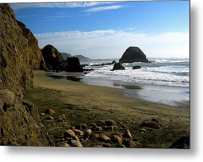 Point Reyes California Metal Print by Amelia Racca