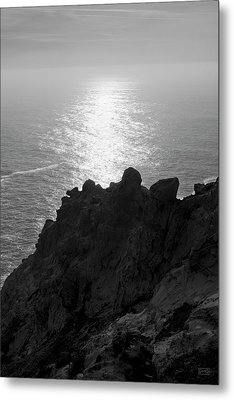 Metal Print featuring the photograph Point Reyes Seascape I Bw by David Gordon