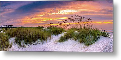 Point Sunrise Metal Print by David Smith