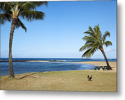 Poipu Beach Metal Print by Kelley King