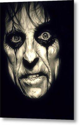 Poison Alice Cooper Metal Print
