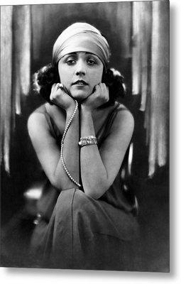 Pola Negri, Ca. Early 1920s Metal Print