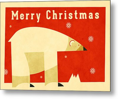 Polar Bear 1 Metal Print