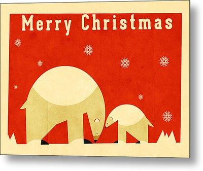Polar Bear 5 Metal Print by Daviz Industries