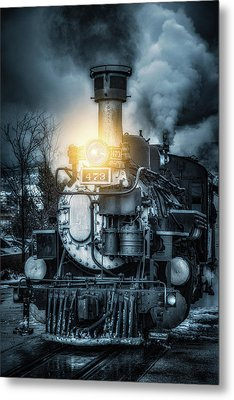 Metal Print featuring the photograph Polar Express by Darren White