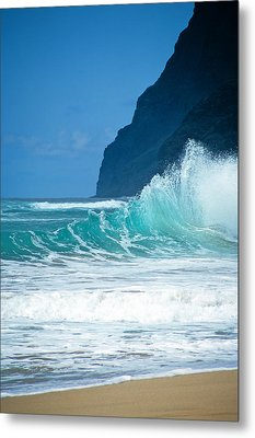 Polihale Beach  Metal Print by Kevin Smith