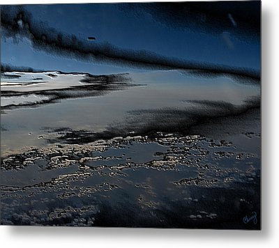 Polished Sky Metal Print