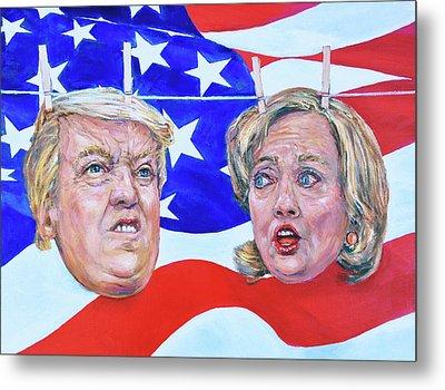 Political Hangups Metal Print by Steven Boone
