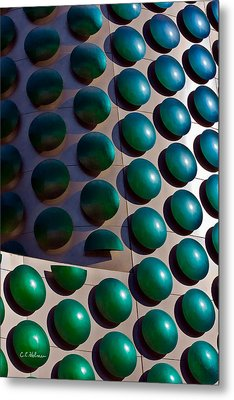 Polka Dots Metal Print by Christopher Holmes