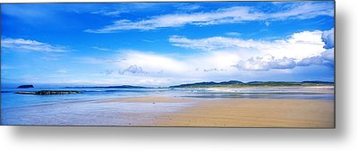 Pollan Strand, Inishowen, County Metal Print by The Irish Image Collection