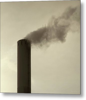 Pollution Metal Print by Wim Lanclus