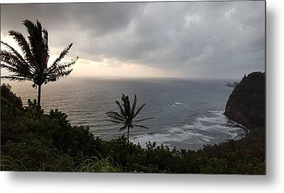 Pololu Valley, Hawaii Metal Print