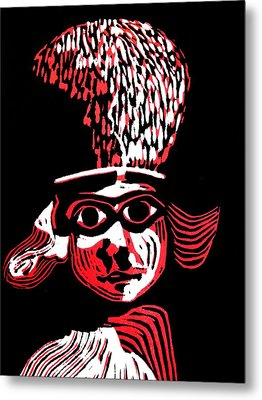 Polos Red Metal Print by Patricia Bigelow