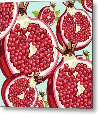 Pomegranate   Metal Print by Mark Ashkenazi
