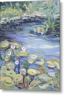 Pond In Berlin Metal Print
