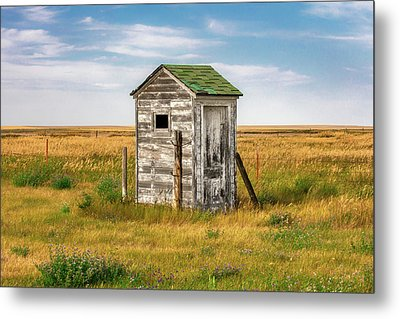 Pendroy Outhouse Metal Print by Todd Klassy