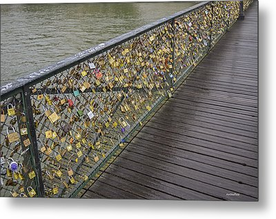 Pont Des Artes Metal Print
