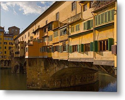 Ponte Vecchio 4 Metal Print