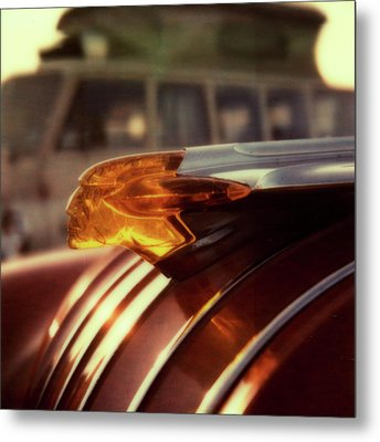 Pontiac And Vw Metal Print by Chad Schaefer