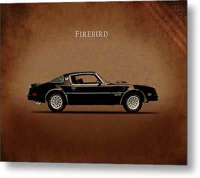Pontiac Firebird Metal Print