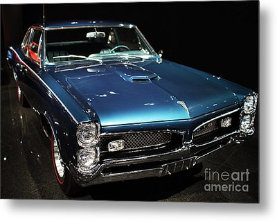 Pontiac Gto 2 Metal Print by Wingsdomain Art and Photography