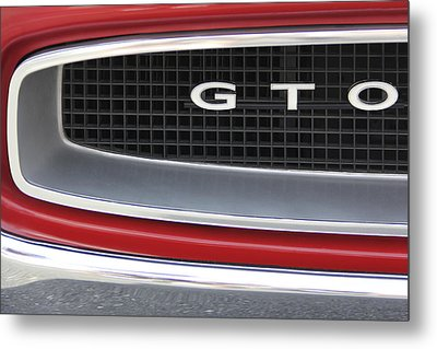 Pontiac Gto  Metal Print by Mike McGlothlen