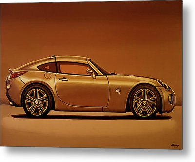 Pontiac Solstice Coupe 2009 Painting Metal Print