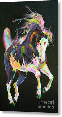 Pony Power I Metal Print by Louise Green