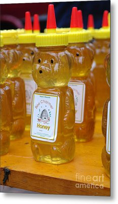 Pooh Honey Metal Print by David Bearden