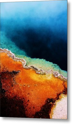 Pool Of Many Colors Metal Print by Russell  Barton
