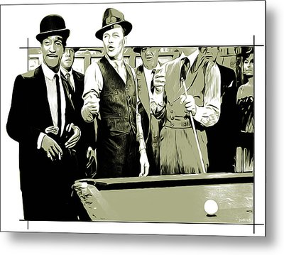 Pool Sharks Metal Print by Greg Joens
