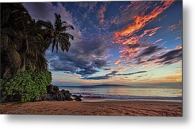 Poolenalena Sunset Metal Print by James Roemmling