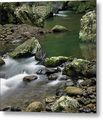 Pools And Eddies Metal Print