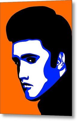 Pop Art Of Elvis Presley Metal Print by Nikita Ryazanow
