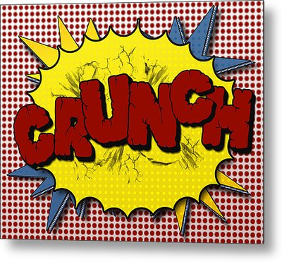 Pop Crunch Metal Print by Suzanne Barber