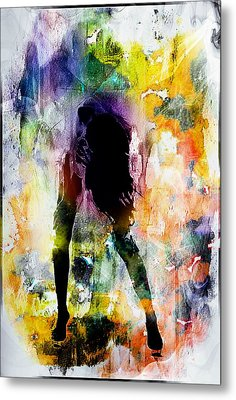 Pop Dance Metal Print