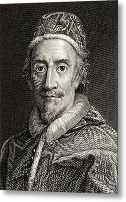 Pope Clemente Ix, 1600-1669 Pope Metal Print
