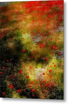 Poppies For Remembrance Metal Print