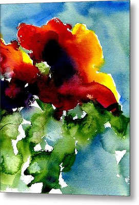 Poppy Metal Print by Anne Duke