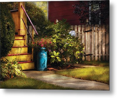 Porch - Summer Retreat Metal Print by Mike Savad