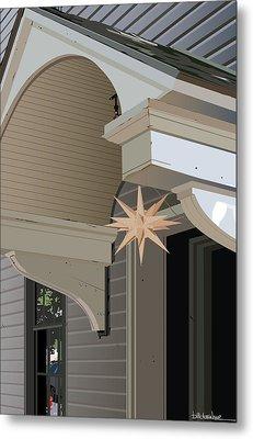 Porch Star Metal Print by Bill Dussinger