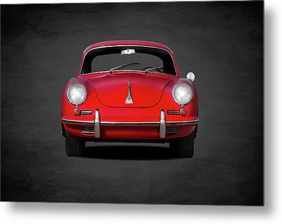 Porsche 356 Metal Print by Mark Rogan