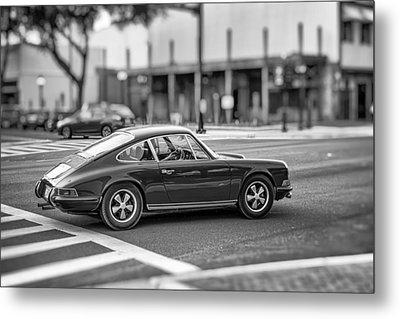 Metal Print featuring the photograph Porsche 911e by Howard Salmon