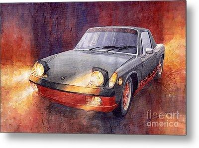 1970 Porsche 914 Metal Print by Yuriy  Shevchuk