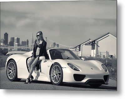 #porsche #918spyder And #kim Metal Print by ItzKirb Photography