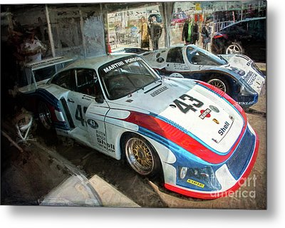 Porsche 935 Moby Dick Metal Print