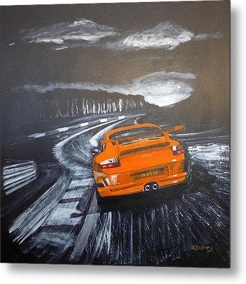 Porsche Gt3 @ Le Mans #3 Metal Print