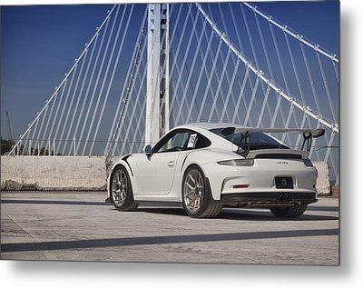 Porsche Gt3rs Metal Print