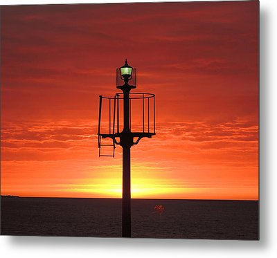 Port Hughes Lookout Metal Print